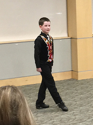 Photos by Katrina Margolis At the age of 9, Daniel Sullivan has already won five National titles