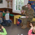 St. John's Nursery School celebrates Vets Day