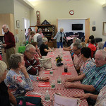 Seniors enjoy COA BBQ