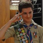 Evan Anderson, Eagle Scout
