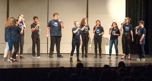Medfield's Jr. Jazz Choir